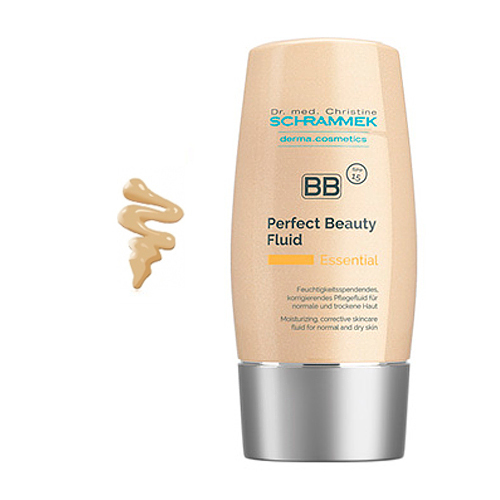 Αντηλιακή με χρώμα B.B perfect fluid essential care peach 40ml Dr.med Christine Schrammek