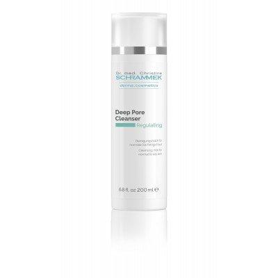 Καθαριστικό γαλάκτωμα για λιπαρό δέρμα Regulating Deep Pore Cleanser 200ml Dr.med Christine Schrammek