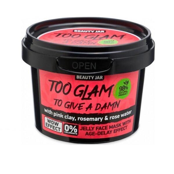 "Beauty Jar ""TOO GLAM TO GIVE A DAMN"" Gel Μάσκα Αντιγήρανσης 120gr"