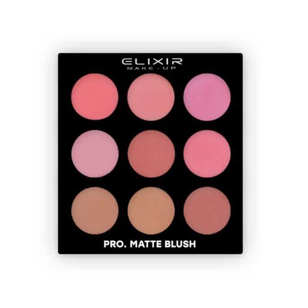 Elixir Παλέτα ρουζ Pro. Matte Blush Palette n846 28,8gr