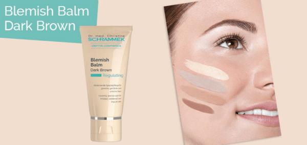 Blemish Balm Dark 40ml Κρέμα εξισορρόπησης με χρώμα Dr.med Christine Schrammek