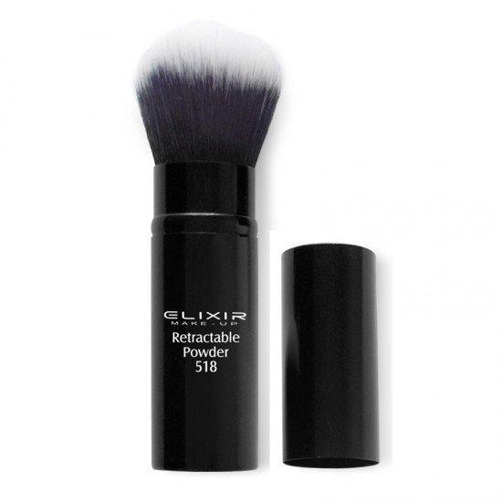 Πινέλο Elixir Retractable Powder Brush No 518