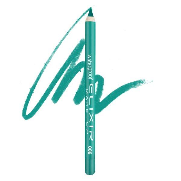 Elixir Μολύβι ματιών N 06 (Spring Green) 1,5gr