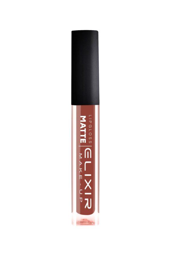 Elixir κραγιόν Liquid Lip Matte No 404 (Light Mahogany) 7ml