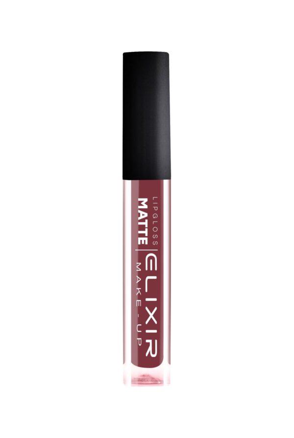 Elixir κραγιόν Liquid Lip Matte Νο 410 (Plum) 7ml