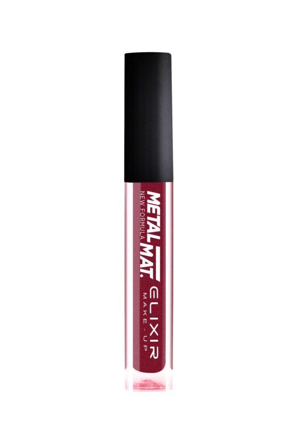 Elixir κραγιόν Liquid Lip Metal Mat. Νο 430 (Chilly Pepper) 7ml