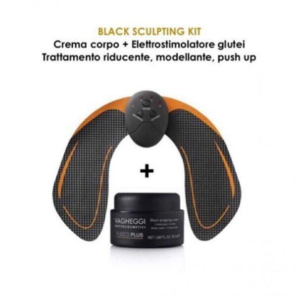 Λιπογλυπτική - Ανόρθωση γλουτών Vagheggi Fuoco Plus Black Sculpting Kit