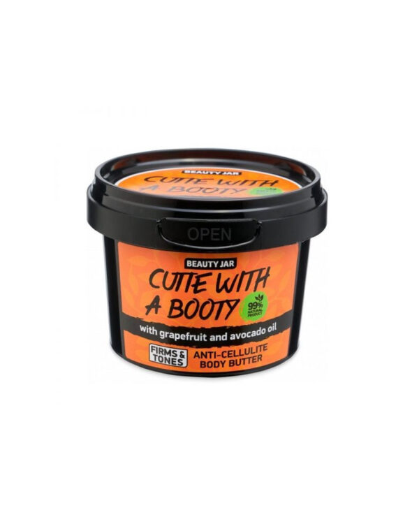 beauty jar cutie with a booty anti cellulite body butter 90gr