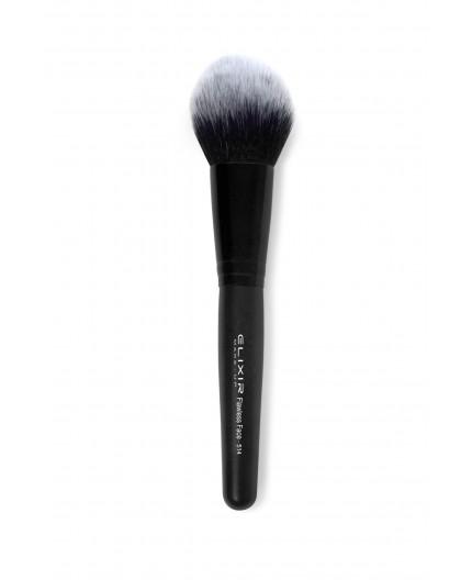 elixir flawless face brush 514