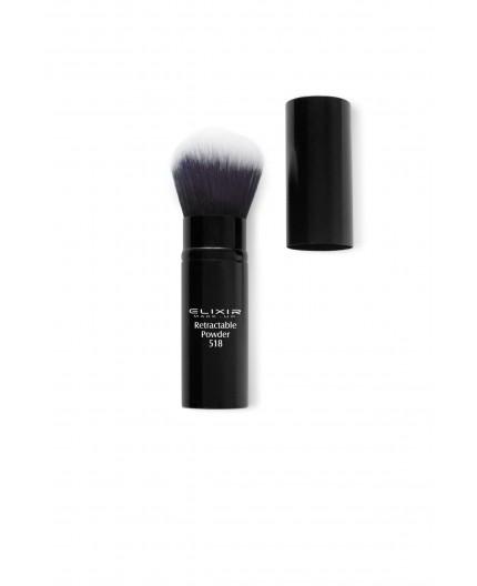elixir retractable powder brush 518