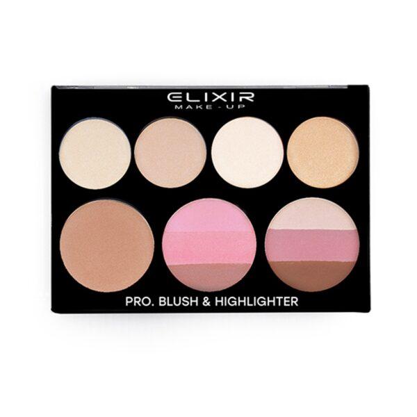 pro blush highlighter 835
