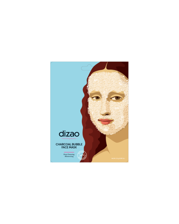 DIZAO NATURAL – MASTERPIECES BUBBLE MASK ΜΕ ΕΝΕΡΓΟ ΑΝΘΡΑΚΑ, 1ΤΜΧ