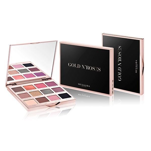 MESAUDA ΠΑΛΕΤΑ GOLD N'ROSES 12 Compact Eyeshadow 12x1,2gr