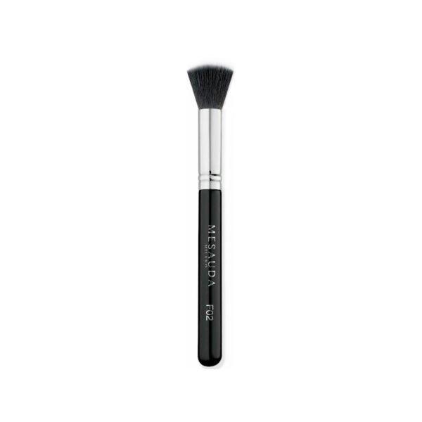Mesauda Milano F02 STIPPLING FOUNDATION Duo Fibre Brush πινέλο makeup