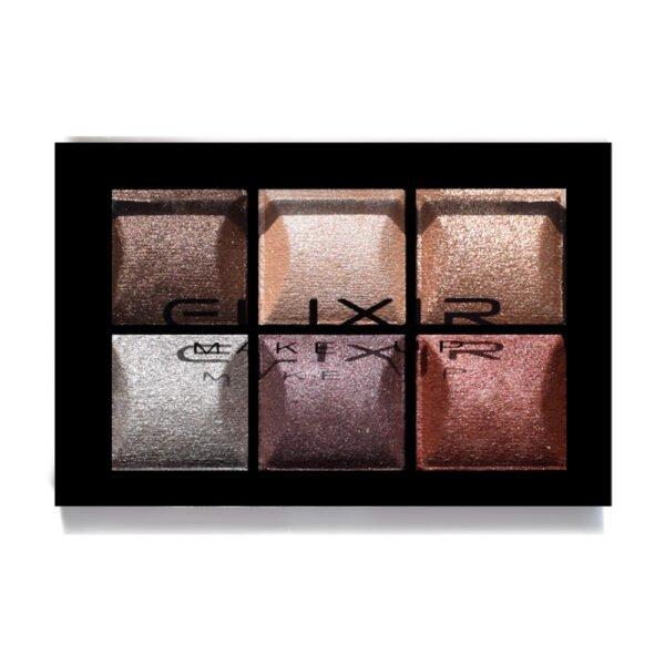 Elixir Baked Shimmer 6 eyeshadow 858