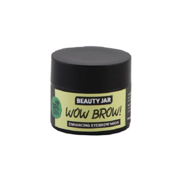"""Beauty Jar """"WOW BROW"""" Μάσκα Φρυδιών, 15ml"""