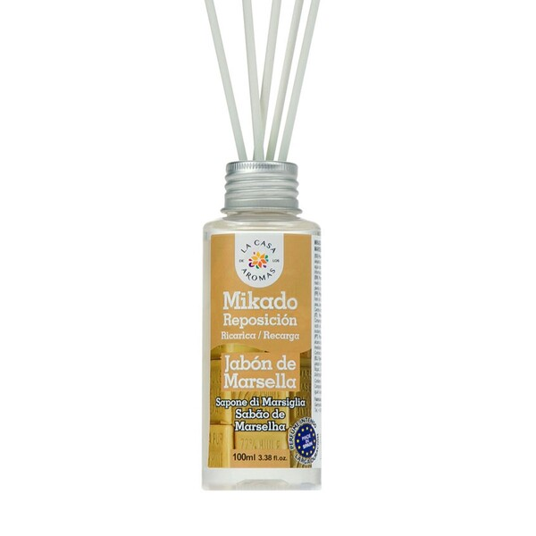 La Casa de los Aromas Αρωματικό Χώρου με Sticks Σαπούνι Μασσαλίας 100ml
