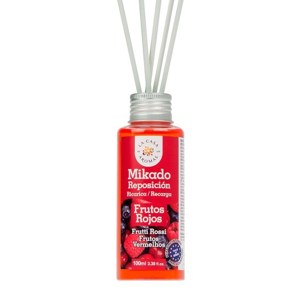 La Casa de los Aromas Αρωματικό Χώρου με Sticks Κόκκινα Φρούτα 100ml