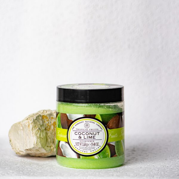 The Somerset Toiletry Co. Tropical Fruits Coconut & Lime Sugar Scrub 550gr